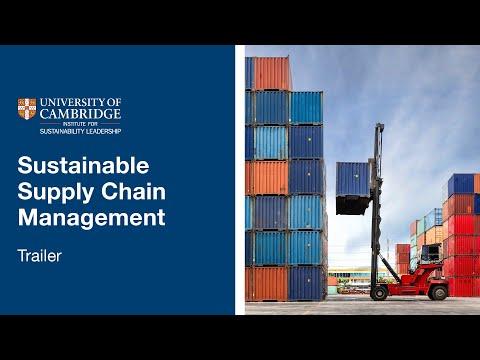 University of Cambridge Sustainable Supply Chain Management ...
