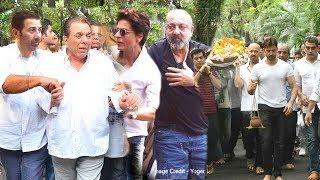 EM0TIONAL Dharmendra Arrives Wid Sunny & Bobby Deol At Hrithik Roshan's Nani's Funeral