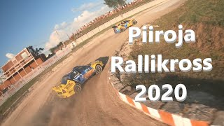 Piiroja Rallikross 2020 - FPV rally chase, mashup