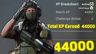 Modern Warfare: How to get 44,000 XP in 50 Seconds
