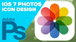 How To Create The IOS 7 Photos Icon In Photoshop