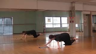 香音先生のダンス講座~クランチ・腕立て~のサムネイル画像