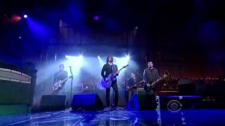 Foo Fighters - Rope live on The Dave Letterman Show (HD)