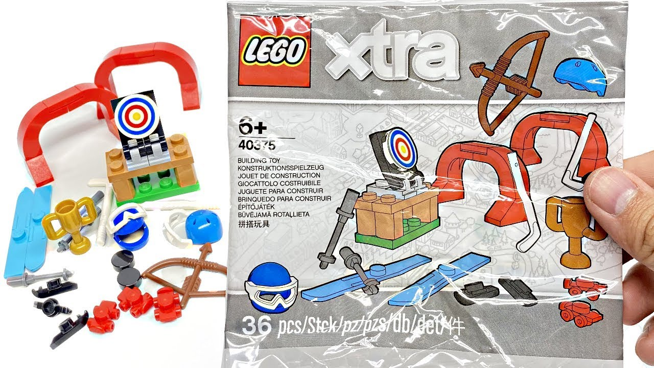 LEGO Xtra Sports Accessories review! 2020 polybag 40375!