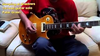 Jumping at Shadows Peter Green guitar lesson