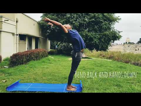 Surya Namaskar ( Sun Salutations)  - Yoga Practice
