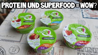 MeinQ Fitness Joghurt Protein mit Superfoods im Test | Voll fit und super?