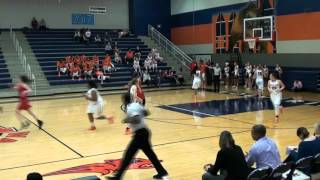 Frisco Liberty High School Redhawks Varsity Girls Basketball vs Wakeland 01 19 2016 v4