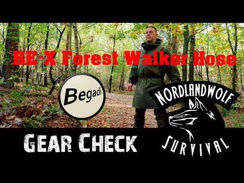 Gear Check Forest walker Softshellhose von Begadi