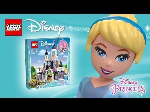 Vidéo LEGO Disney 41154 : Le palais des rêves de Cendrillon