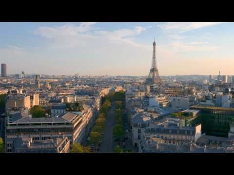 Paris. Timelapse.
