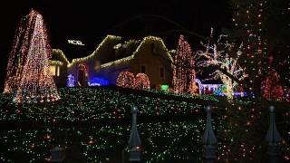 Weihnachtslichter-Wahn in den USA