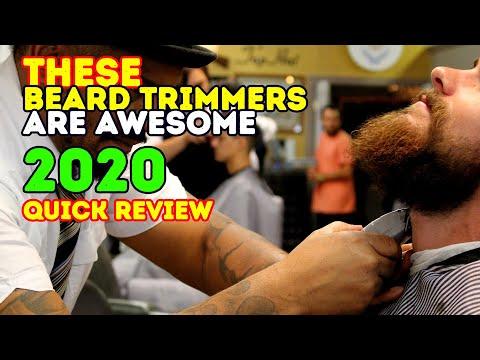 Best Beard Trimmers 2017 !
