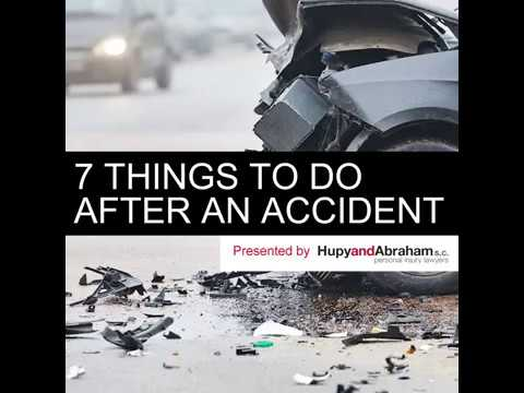 7 Things To Do After An Accident