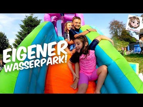 POOLPARTY mit Freunden - Little Tikes Mega Pool mit Rutsche 🌊 Wasserpark im Garten
