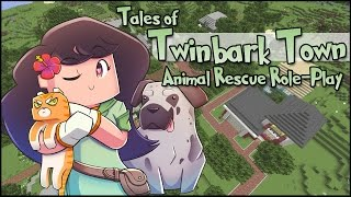 Welcome To Twinbark Town || Animal Rescue Role-Play [ Episode #1 ]