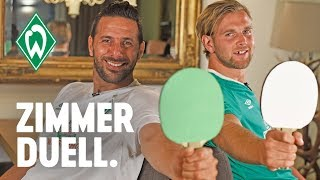 Zimmerduell - Claudio Pizarro & Niclas Füllkrug | SV Werder Bremen