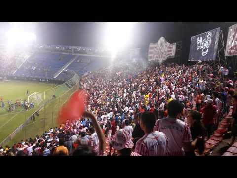 """Sportivo San Lorenzo"" Barra: La Guardia Santa • Club: Sportivo San Lorenzo"