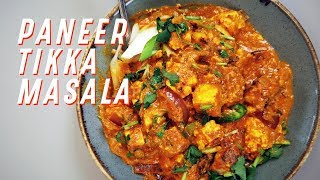 Paneer-Tikka Masala, eine tolle vegetarische Alternative zum Chicken-Tikka Masala - Karma Food