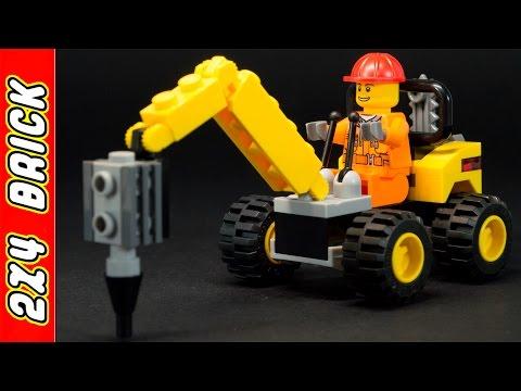 Vidéo LEGO City 30312 : La foreuse de démolition (Polybag)