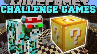 Minecraft: XMAS COW CHALLENGE GAMES - Lucky Block Mod - Modded Mini-Game