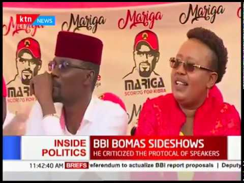 BBI report was made public before political diplomatic delegates at the Bomas of Kenya