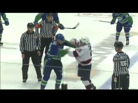 Quinton Waitzner vs. Scott Mahovlich