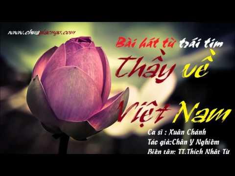 Thầy về Việt Nam