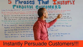 CAR SALES TRAINING: 5 PHRASES THAT INSTANTLY PERSUADE CUSTOMERS