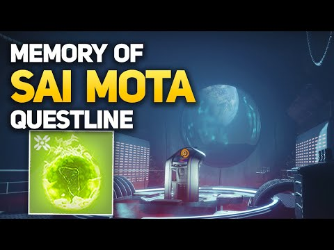 How to Start Eris Morn Quests - Memory of Sai Mota - Week #1 (Destiny 2 Interactive Cutscene)
