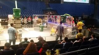 preview picture of video 'FRC Team 5135 Recycle Rush 2015 Israel Regional 1'