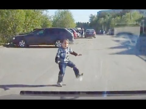 Дети на дороге, подборка дтп