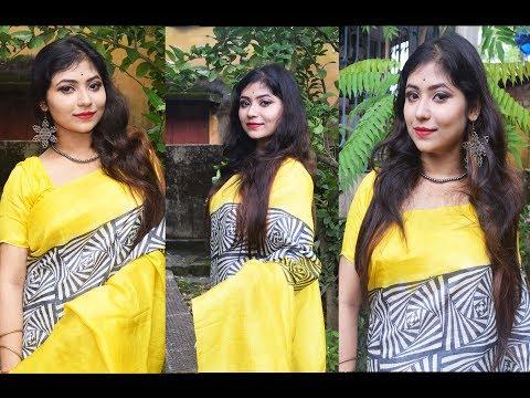 Durge Puja Special Day Makeup Tutorial/Durga Puja Makeup 2017/Festive Makeup Look