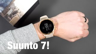 Suunto 7 Unboxing and Tour!