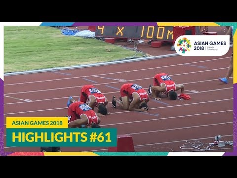 Asian Games 2018 Highlights #61