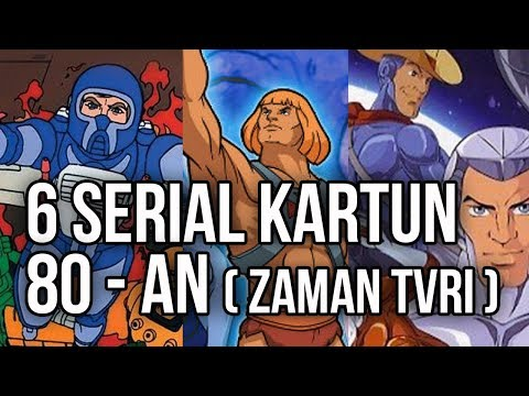 6 serial kartun 80 an  zaman tvri   bagian 1