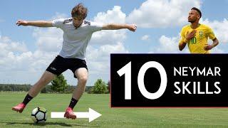 TOP 10 Neymar Skill Moves