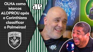 Marcos aloprou o Corinthians após rival classificar o Palmeiras