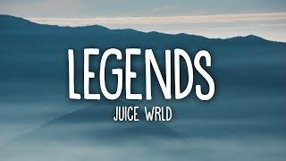 Juice WRLD - Legends (Lyrics) Tribute - YouTube