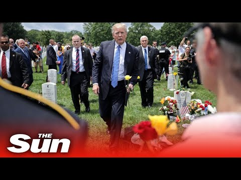 Trump trashes claim he called fallen US war heroes 'losers' and 'suckers'