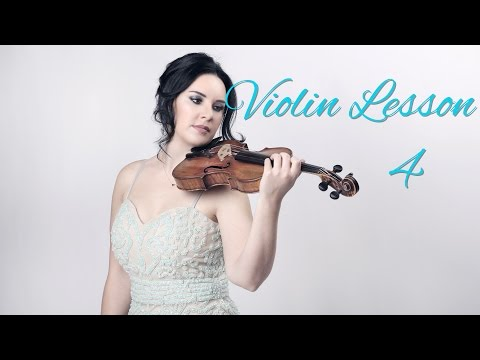 Learn VIOLIN - Lesson 4/20 - How and where to bow
