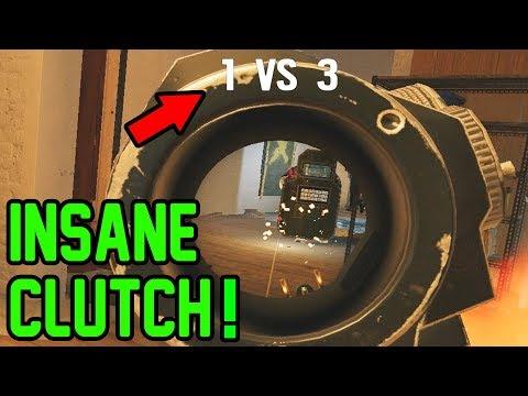Insane Clutch! - Rainbow Six Siege Gameplay