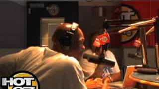 Hot 97- Angie Interviews BigBoy and Crew