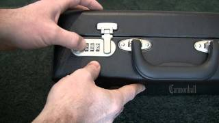 How to Open a 3-Dial Combination Lock Case in 6 Minutes or Less