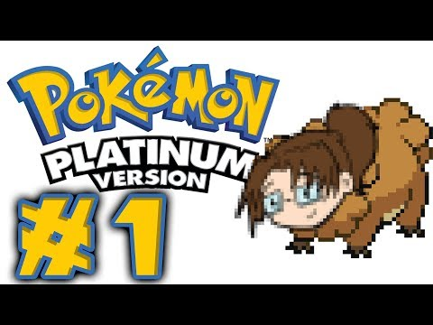 Let's Play: Pokémon Platinum DS! -- Episode 1 [WHICH STARTER?]