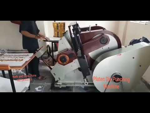 Heavy Duty Platen Die Punching Machine