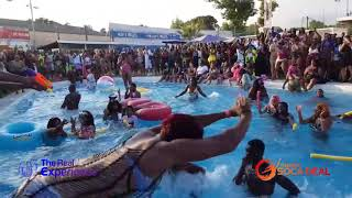 Dancehall Episode Pool Party - Pool Jumping!