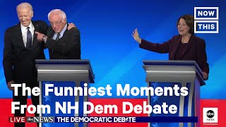 Here Are the Funniest Moments From New Hampshire Democratic Debate | NowThis