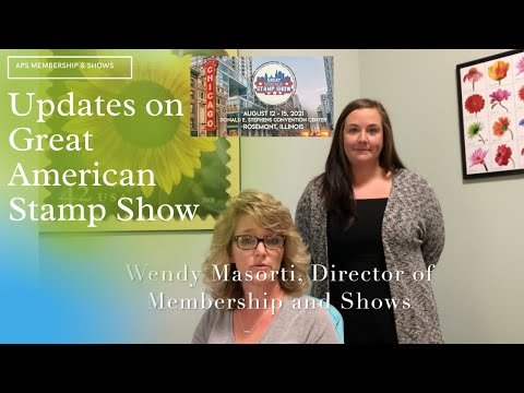 Great American Stamp Show: Updates, What You Need to Know, & an Intro to Newest APS Staff