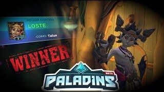 Paladins - Returns En Asedio Con Victoria - X3 LOSTE Talus